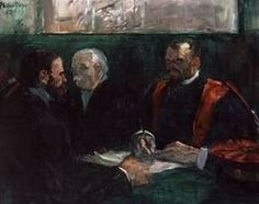 Examination at the Faculty of Medicine - Henri de Toulouse Lautrec