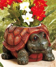 pig planter pottery | Cute Adorable Chubby Turtle Animal Planter Sold Out