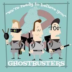 Ghostbusters by LosFuriasTiki on DeviantArt
