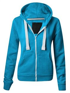 Kids Plain Coloured Fleece Hoodie Junior Girls Boys Zip Hooded Jacket Hoody Tops