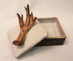 Ceramic box  I created in Pottery!