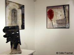 Odile Frachet : peintre sculpteur d'Ile-de-France, peintures
