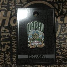 Hard Rock Pin Macau Exclusive Guitar Series Macau City Pin 201511