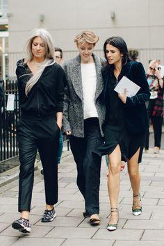 Street style à la Fashion Week printemps-été 2017 de Londres - September 2016    Vogue
