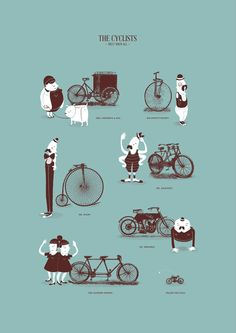 Illustration Collabs by Jacques & Lise , via Behance
