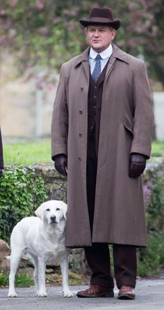 Downton Abbey Season 5: Lord Grantham and Isis