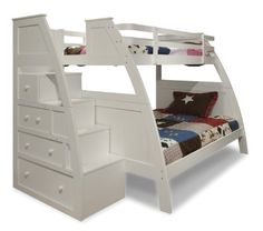 Canwood Overland Bunk Bed with Built-In Stairs Drawers, Twin Over Full, White, http://www.amazon.com/dp/B00G3VZZYG/ref=cm_sw_r_pi_awdl_5uyRsb1AHMQDJ