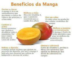 Benefícios da manga
