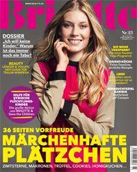 Spiralps, Swiss Spirulina Drink in BRIGITTE Magazine!