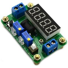 4 Digital Green LED Display Constant Voltage and Current Buck Module ( DC 4.5  -  24V to DC 0.9  -  20V ) #women, #men, #hats, #watches, #belts, #fashion, #style