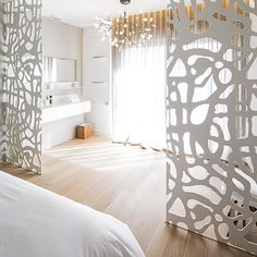 Heracleum by Bertjan Pot via Moooi   www.moooi.com   #design #architecture #architecturelovers #bathroom #patrickleclerc_photographer #bedroom #white #wood #creation #surmesure #syl20roucher