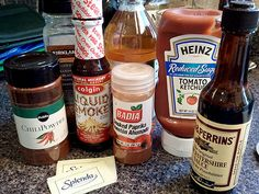 BBQ sauce is a tougie as far as low-carb goes. There used to be a sugar-free sauce put out by … I'm tempted to say K.C. Masterpiece, but I may be wrong. One of the big names, anyway. It…