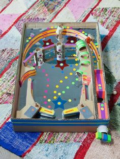 This (functional!) cardboard pinball machine is pretty much as cool as it gets. #DIY