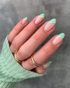20 Gorgeous Ideas for Spring Nails in 2021 – May the Ray Summer Gel Nails, Cute Gel Nails, Chic Nails, Funky Nails, Stylish Nails, Spring Nails, Swag Nails, Summer French Manicure, Acrylic Nails For Summer