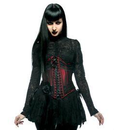 """Le tout premier """"corset"""" que j'ai acheté dans ma vie, je devais être au collège... A l'époque c'était pour moi la plus belle chose que j'eusse jamais vue. Now I know better! x)"""