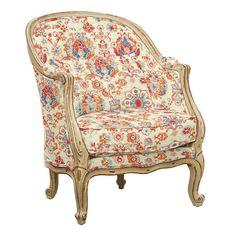 Regency Custom Upholstered Armchair Dining Room Design, Chair, Upholstered Arm Chair, Accent Chairs, Chair Fabric, Ballard Designs, Room Design, Upholstered Chairs, Custom Chair