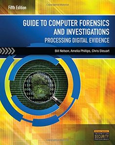 Guide to Computer Forensics and Investigations (with DVD) by Bill Nelson http://www.amazon.com/dp/1285060032/ref=cm_sw_r_pi_dp_rXmgvb1S7DJZ4
