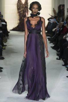 See the Marchesa autumn/winter 2015 collection obsessed with the peek a boo lace detail