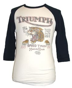 Lucky Brand Solid Cotton Short Sleeve Graphic Tee Men's T-Shirts Triumph Logo, Triumph Motorcycles, Motorcycle Logo, Triumph Tiger, Speed Racer, Men's Grooming, Lucky Brand, Graphic Tees, Long Sleeve Tees