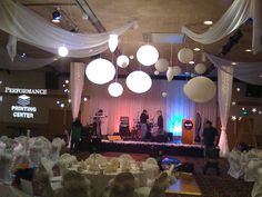 Stage Decorations - Premier Event Design by Celadon Events, via Flickr