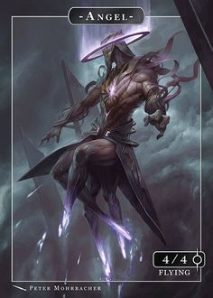 A modern and surreal interpretation of a classic fantasy trope. Peter Mohrbacher is creating original imaginative illustrations of lesser known angels. Fantasy World, Dark Fantasy, Fantasy Art, Art Noir, Arte Obscura, Angels And Demons, Creature Design, Mythical Creatures, Fantasy Characters
