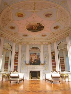 Check out that ceiling! Miniature room by Sweetington, inspired by designer Robert Adam Flickr - Photo Sharing!