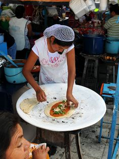 the very modern Oaxacan cook!