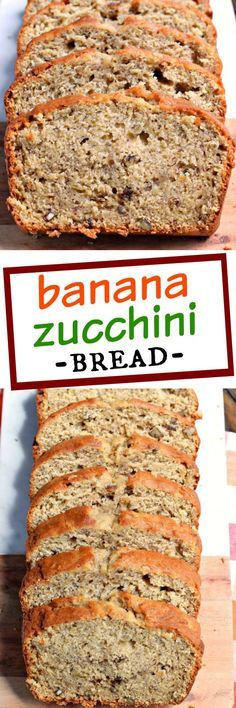 Banana Zucchini Bread- not just another bread recipe, this one is great!!