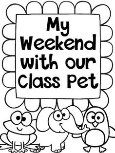 CLASS PET JOURNALS {FREEBIE} - TeachersPayTeachers.com