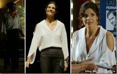 moda da novela em família - verônica capítulo 18 de fevereiro de 2014 a