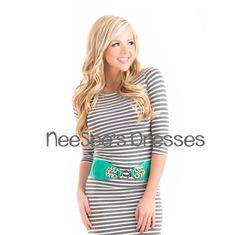 Mint Statement Belt   Trendy Jewelry   Modest Clothing