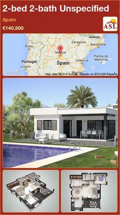 2-bed 2-bath Unspecified in Spain ►€140,500 #PropertyForSaleInSpain