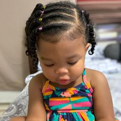 cute little girl hairstyle black Little Mixed Girl Hairstyles, Black Toddler Hairstyles, Kids Curly Hairstyles, African American Kids Hairstyles, Biracial Hair, Mixed Hair, Curly Hair Styles, Hair Products, Beauty Products