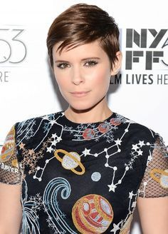 Kate Mara's pixie cut