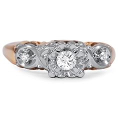 The Tabby Engagement Ring #BrilliantEarth #Vintage