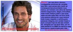 @ambrosioelieser Teu carisma conquistou Brasil,quem ñ se deixou tocar p/vc,ñ enxergou quem realmente vc é #ADOROVC