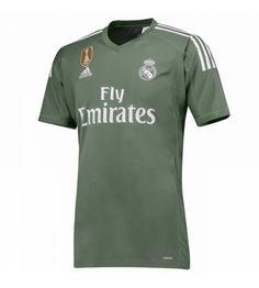 Billiga Fotbollströjor Real Madrid Målvakt Hemmatröja 17-18
