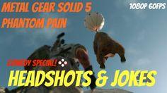 Metal Gear Solid 5: Headshots & Joking Around - 200 Subscribers Celebrat...