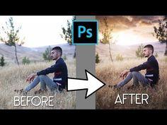 Outdoor Portrait Editing | Warm tone - YouTube