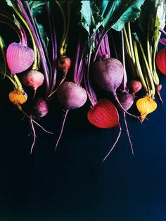 Beetroot - photography style. Try on chalkboard with direction of light by beets