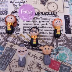 Chaveiros Harry Potter - Paty's Biscuit