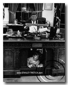 JFK & John Jr. By Stanley Tretick