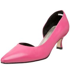 I've always wanted a pink pair of shoes.