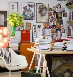 Beautiful clutter #design #home #lvharkness