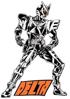 Kamen Rider, Darth Vader