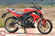 Yamaha V Ixion Street Fighter Proporsional