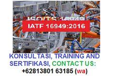 Jasa Sertifikasi IATF 16949:2016, KONSULTASI DAN TRAINING