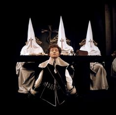 "salesonfilm: "" The Devils (Ken Russell, production design by Derek Jarman (! Ken Russell, Star Wars, Best Director, Punk, Cult Movies, Moving Pictures, Horror Films, Christen, Art Techniques"