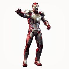 Check out this cool Iron Man 3 Mark 42 (Superalloy) action figure!   http://ragebear.com/to/iron-man-mark-42