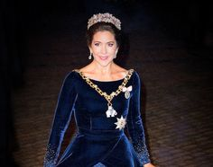NewMyRoyals:  New Year's Reception, January 1, 2016-Crown Princess Mary